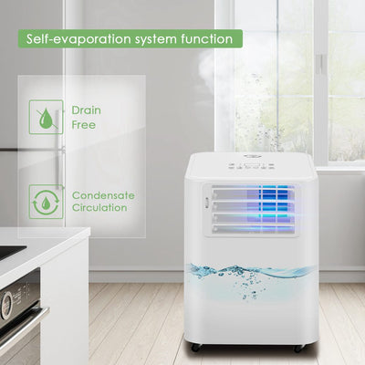 Portable Remoted Control Air Conditioner 5000 BTU With Timer