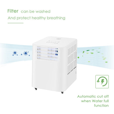 Portable Remoted Control Air Conditioner 9000 BTU With Timer