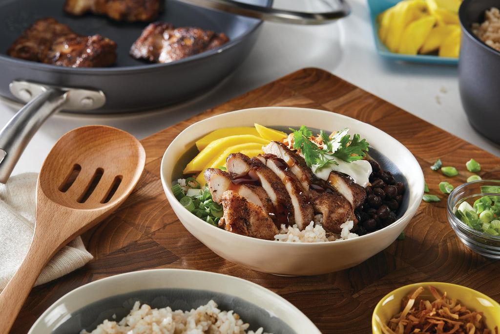 Jerk-Inspired Chicken Bowls
