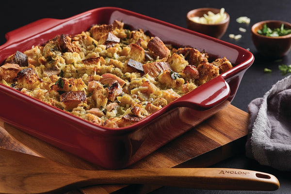 "Savory ""Leftovers"" Bread Pudding"
