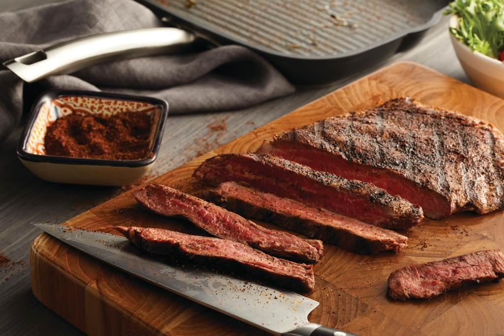 Arabica Spice Rubbed Flank Steak
