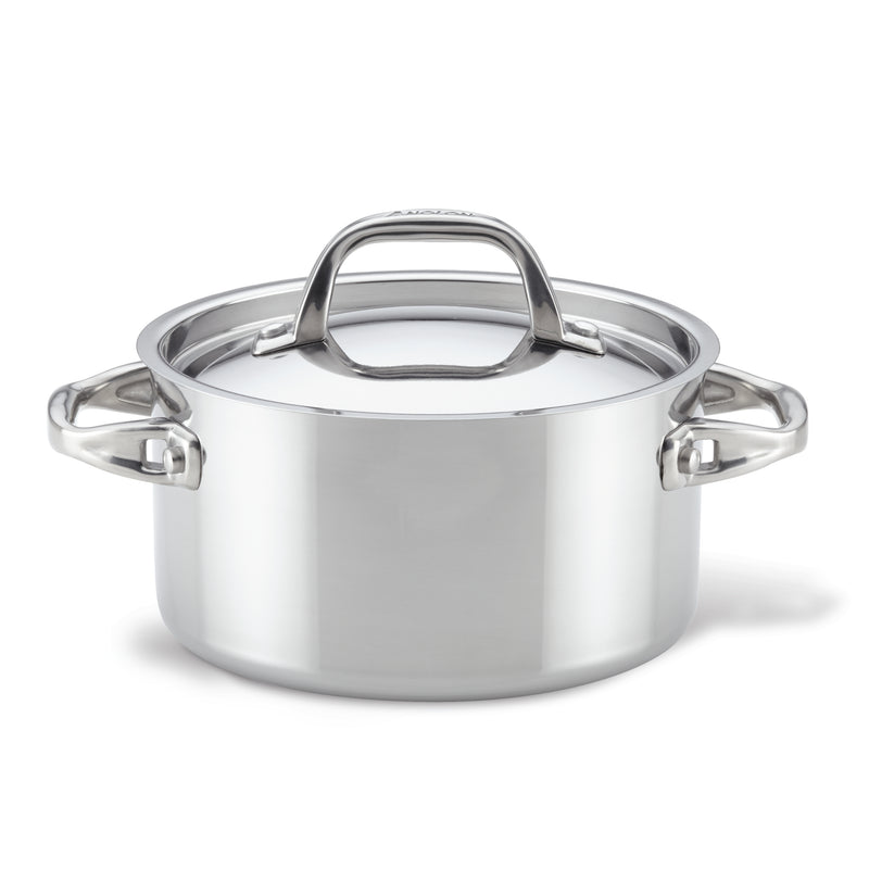 Tri-Ply Clad Saucepot with Lid