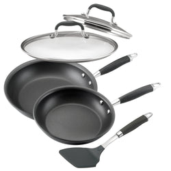 Advanced Frying Pan Set with Lid and Turner