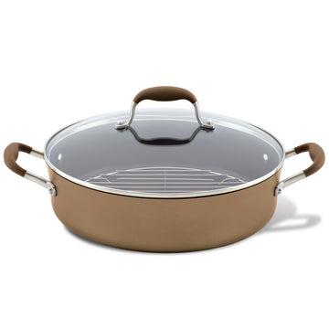 Advanced 5.5-Quart Braiser with Rack and Lid