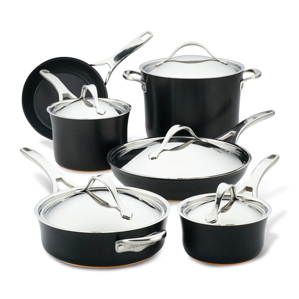 Nouvelle Copper Luxe Cookware Set