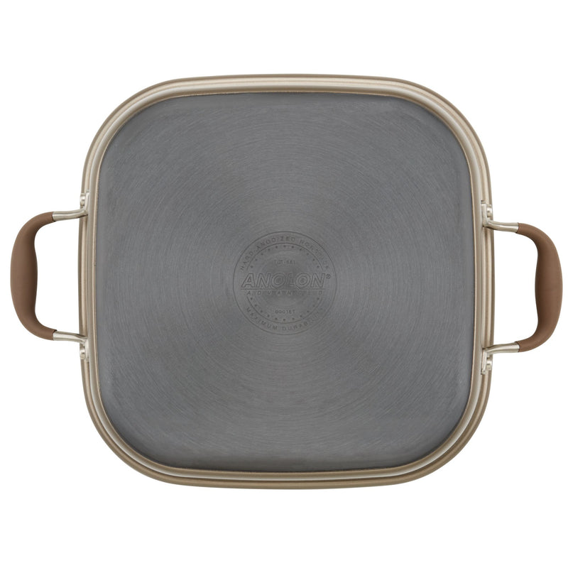 Square Dutch Oven and Grill Pan Lid