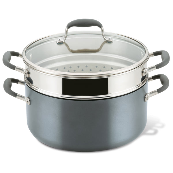 Advanced Home Wide Stockpot with Multi-Function Insert