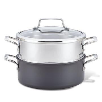 Authority 5-Quart Dutch Oven with Steamer Insert