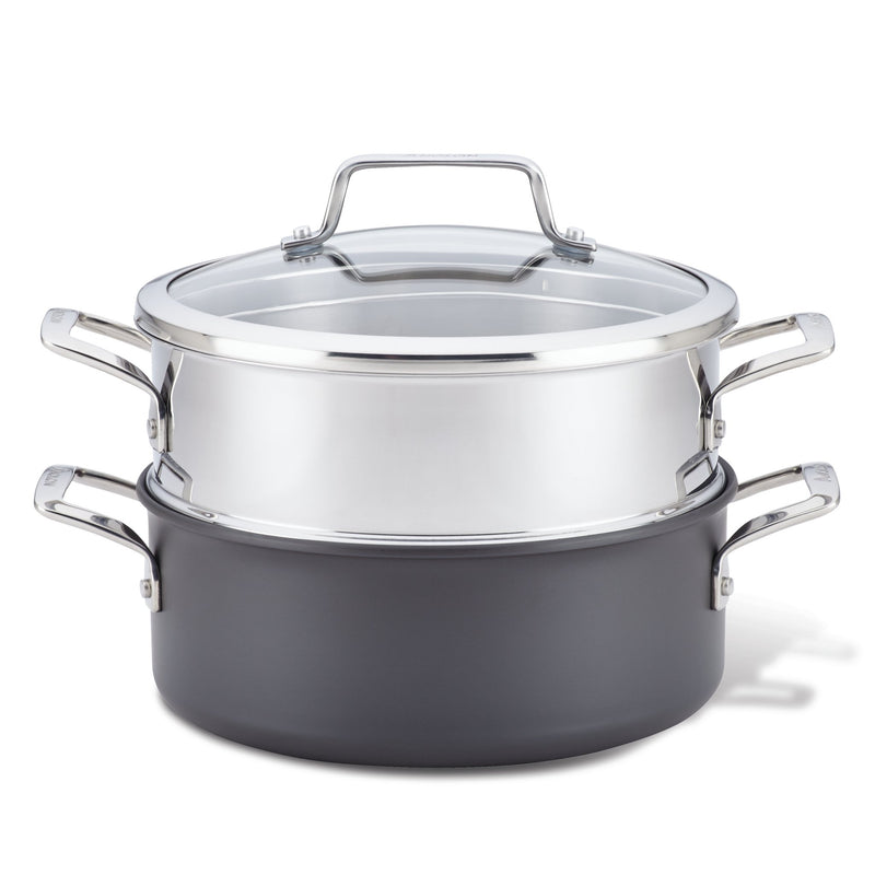 Authority Dutch Oven with Lid and Steamer Insert