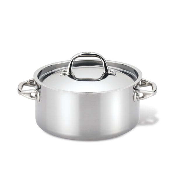 Tri-Ply Clad Dutch Oven with Lid