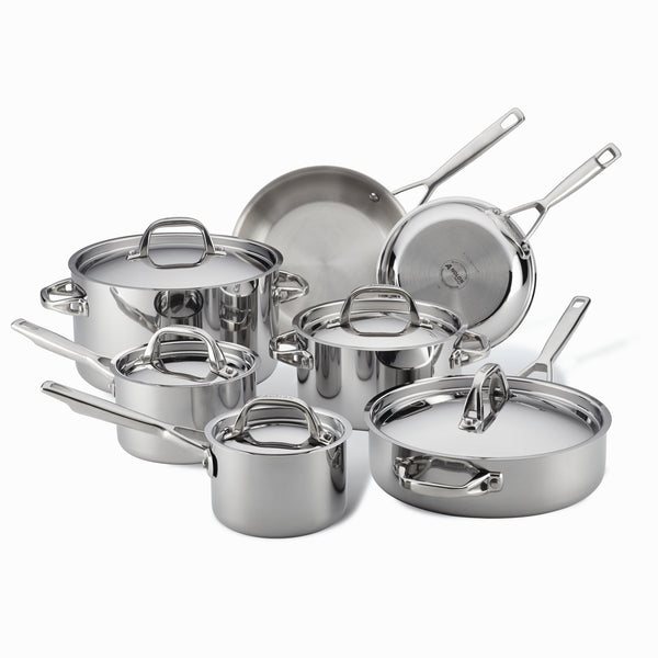 Tri-Ply Clad Cookware Set