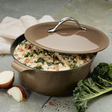 Round Dutch Oven with Lid