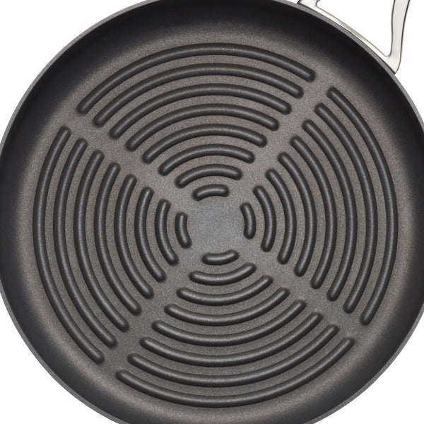 Nouvelle Copper Deep Round Grill Pan