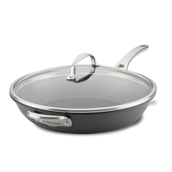13.75-Inch Frying Pan with Helper Handle