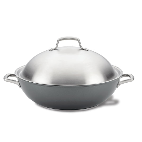 13.5-Inch Wok with Lid
