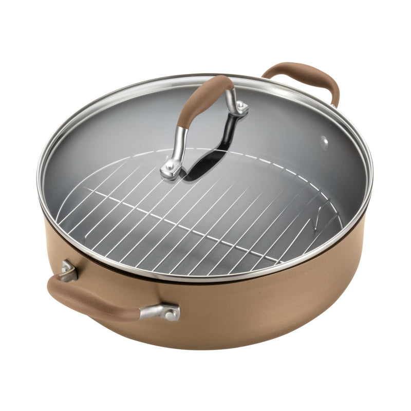 5.5-Quart Braiser with Rack and Lid