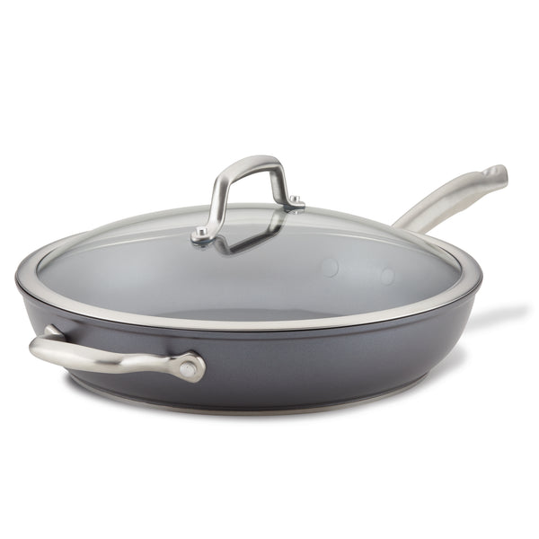 Accolade Deep Frying Pan with Lid and Helper Handle