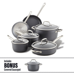 Cookware Set with Bonus
