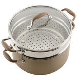 8.5-Quart Wide Stockpot with Multi-Function Insert