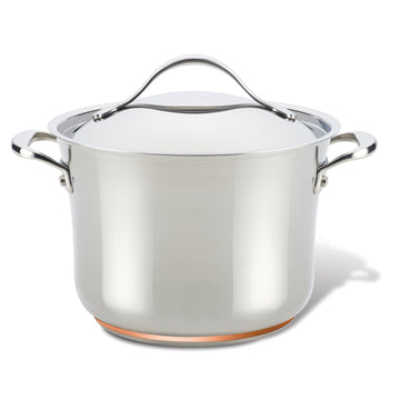 Nouvelle Stainless 6.5-Quart Stockpot with Lid
