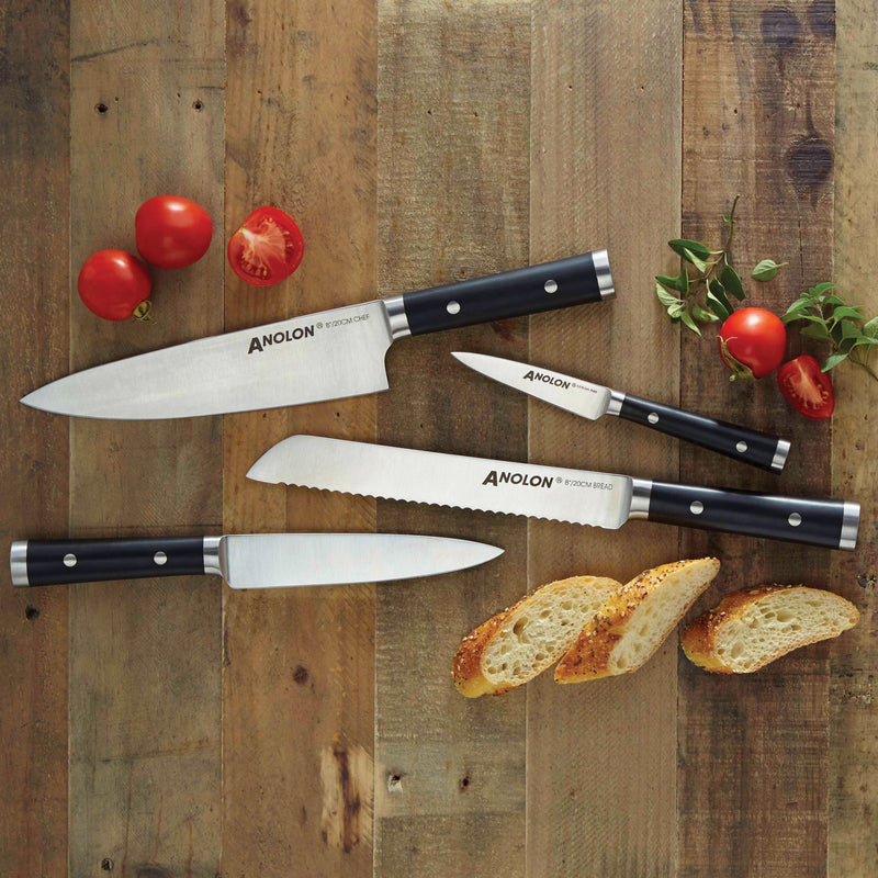 Chef Knife Set with Sheaths