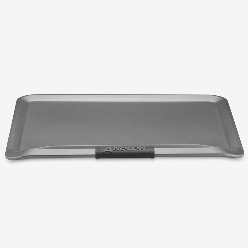 "14"" x 16"" Cookie Sheet with Silicone Grips"