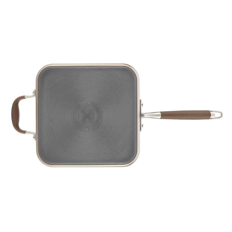 4-Quart Square Sauté with Lid and Helper Handle