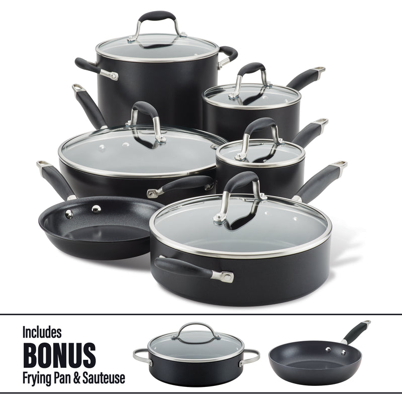 Advanced Home Cookware Set with Bonus