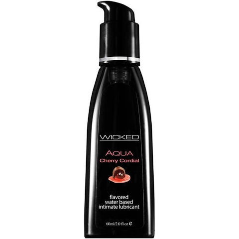 Wicked Aqua Cherry Cordial Lubricant 60ml