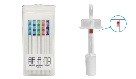 T-Cube oral saliva drug test 11 Panel + Alcohol