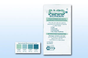 Alco-screen 2 Minute saliva alcohol test (24 kits) by Alcoscreen