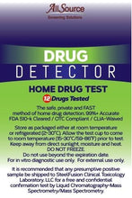 Load image into Gallery viewer, allsource drug detector 12 panel home screen