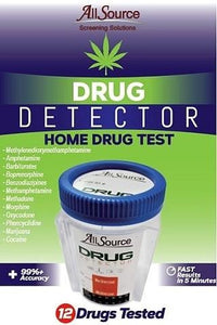 allsource drug detector 12 panel home test