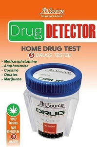 allsource drug detector 5 panel home test kit