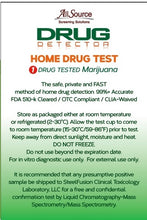 Load image into Gallery viewer, allsource drug detector marijuana thc