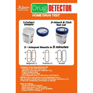 allsource drug detector 5 panel at home test