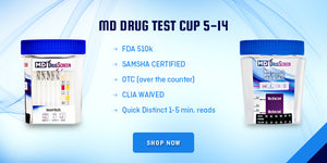 MDC-6125 UA drug test cup