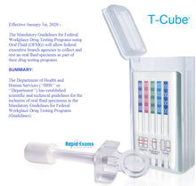 Load image into Gallery viewer, T-Cube EUO 6 Panel Oral Saliva Test
