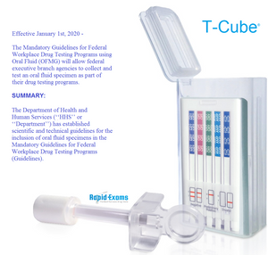 T-Cube EUO 6 Panel Oral Saliva Test