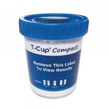 Load image into Gallery viewer, T-Cup 5 panel compact drug test clia-waived CDOA254