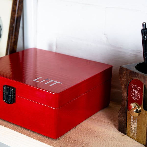 LITT Rolling Stash Box (Red)