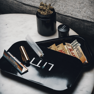 Litt Stash Metal Rolling Tray - Large
