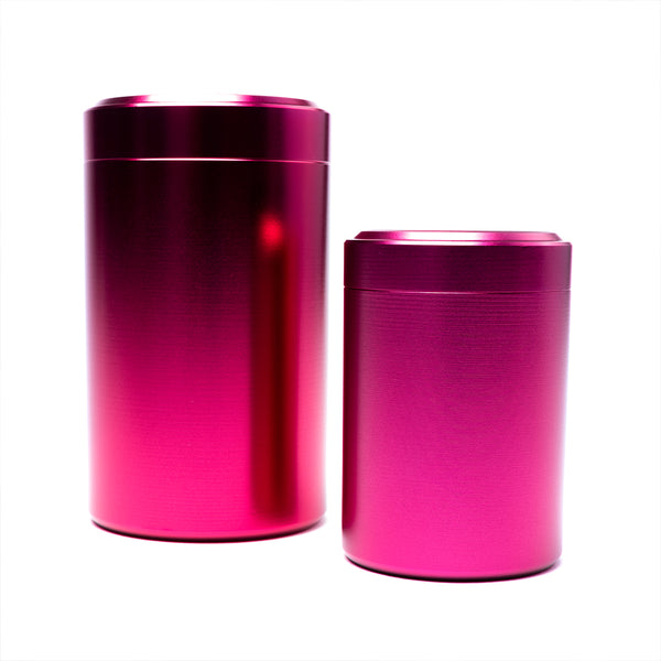 Metal Storage Tub (Pink)