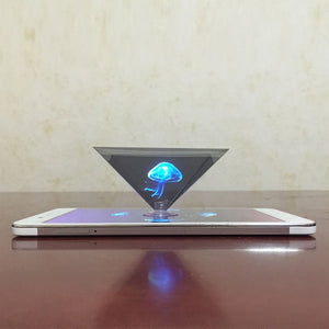 3D Hologram Pyramid Display Projector
