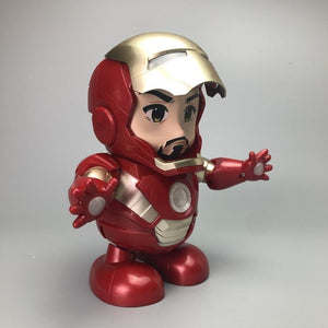 Marvel Iron Man Dancing Hero Swing Robot Toy
