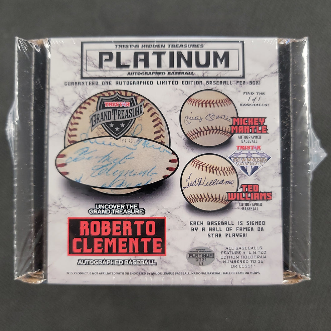Tristar Hidden Treasures Platinum Autographed Baseball