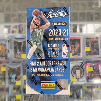 2020-21 Panini Absolute Basketball Hobby Box