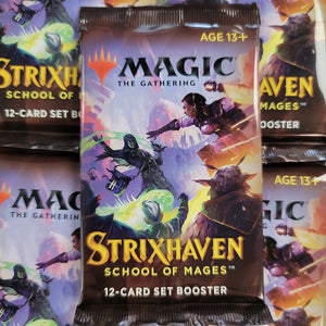 Magic The Gathering Strixhaven School Of Mages Set Booster Pack MTG