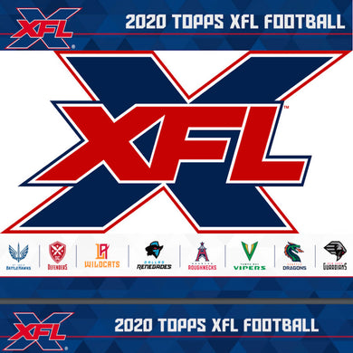 2020 Topps XFL Football Hobby Box