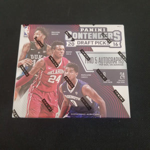 2016-17 Panini Contenders Draft Picks Hobby Box